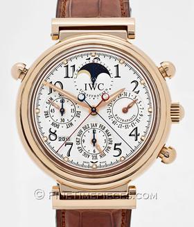 IWC | Da Vinci Perpetual Calendar Rattrapante Rotgold | Ref. 3754 - 001