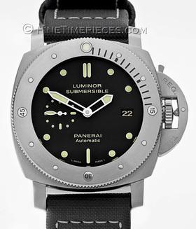 OFFICINE PANERAI | Luminor 1950 Submersible 3 Days Titan | Ref. PAM 305