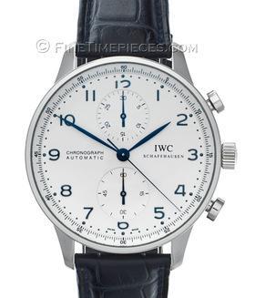 IWC   Portugieser Chronograph Automatic Edelstahl   Ref. 3714 - 17