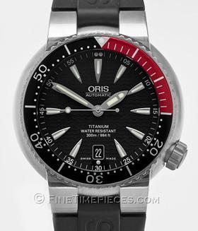 ORIS | Divers Titan Date | Ref. 01 733 7562 7154 - 07 4 24 34 TEB