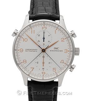IWC | Portugieser Chronograph Rattrapante Edelstahl | Ref. IW371202