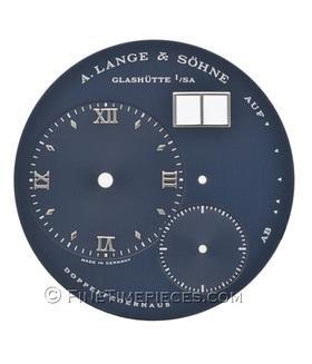A. LANGE & S�HNE | blaues Zifferblatt f�r Lange 1 Wei�gold | Ref. 101.027