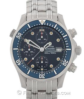 OMEGA | Seamaster Diver 300 M Chronograph Titan | Ref. 2298.8000