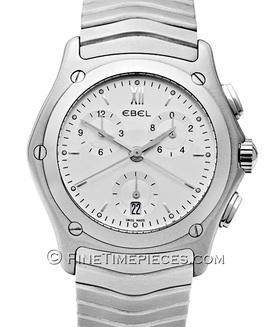 EBEL | Classic Wave Chronograph Edelstahl | Ref. 9251 F 41