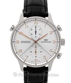 IWC | Portugieser Chronograph Rattrapante Edelstahl | Ref. 3712-02