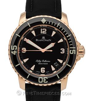 BLANCPAIN | Fifty Fathoms Rotgold | Ref. 5015-3630-52