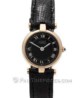 CARTIER | Must Vermeil Ronde 24 mm | Ref. W100