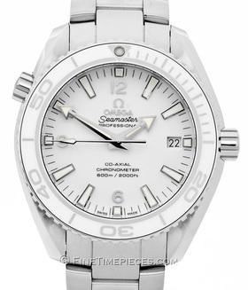 OMEGA   Seamaster Planet Ocean Keramik-Lünette weiß   Ref. 23230422104001
