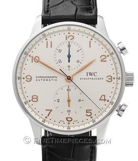 IWC | Portugieser Chronograph Automatic Edelstahl | Ref. 3714-01