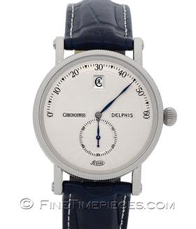 CHRONOSWISS | Delphis Stahl Service 2016 | Ref. CH1423