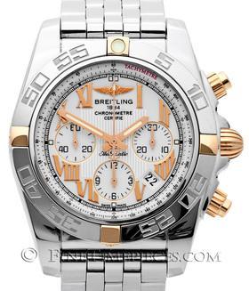 BREITLING | Chronomat B01 Stahl/Rosegoldreiter | Ref. IB0110-805