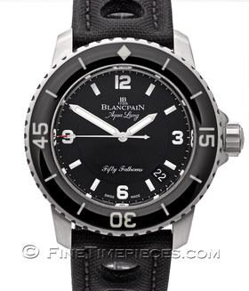 BLANCPAIN | Fifty Fathoms *Tribute to Fifty Fathoms Aqua Lung* | Ref. 5015c-1130-52b