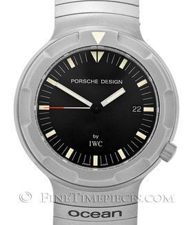 IWC | Porsche Design Ocean 2000 + zusätzliches Velcroband | Ref. 3524