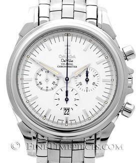 OMEGA | De Ville Co-Axial Chronograph Edelstahl | Ref. 45413100