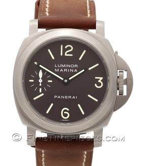 OFFICINE PANERAI | Luminor Marina Titan  Tobacco Dial  | Ref. PAM 118