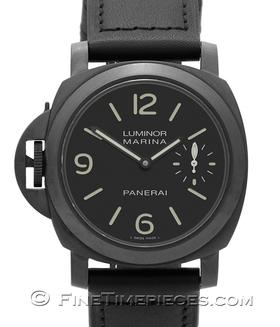 OFFICINE PANERAI | Luminor Marina left handed PVD | Ref. PAM 26 B