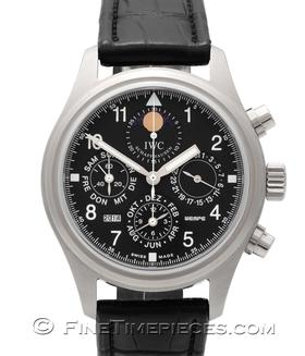 IWC | Fliegerchronograph Perpetual Calendar Edition 125 Jahre Wempe | Ref. 3757-01
