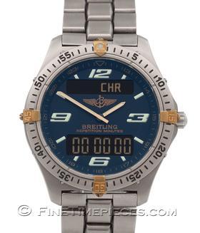 BREITLING | Aerospace Titan/Gold | Ref. E65362