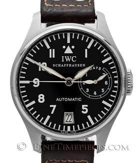 IWC | Große Fliegeruhr Edelstahl - Service 2014 | Ref. IW500201