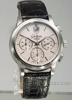 GLASHÜTTE ORIGINAL | Senator Klassik Chronograph | Stahl | Ref. 39-31-11-13-09