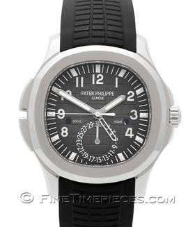 PATEK PHILIPPE | Aquanaut Travel Time Stahl | Ref. 5164A-001