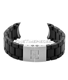 JAEGER-LeCOULTRE | Kautschukummanteltes Stahlband für Master Compressor | Ref. QM41208A