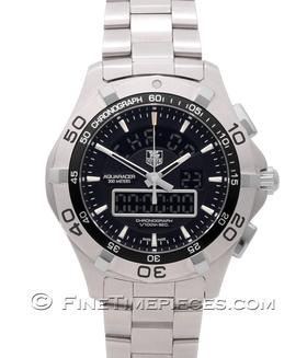 TAG HEUER | Aquaracer Chronotimer Quarz | Ref. CAF1010.FT8011