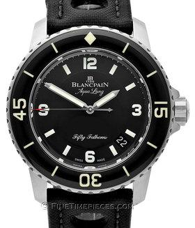 BLANCPAIN | Tribute to Fifty Fathoms Aqua Lung limitiert auf 500 Stück | Ref. 5015c-1130-52b