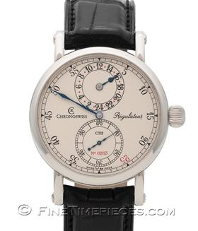 CHRONOSWISS | Regulateur 24 Handaufzug Limited Edition | Ref. CH1123