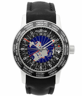 FORTIS | B-47 Worldtimer GMT Limited | Ref. 674.20.15 L