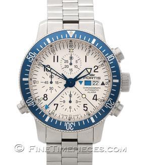 FORTIS   B-42 Diver Automatic Chronograph Alarm   Ref. 641.10.12 M