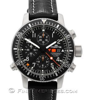 FORTIS   B-42 Cosmonauts Chronograph Alarm   Ref. 639.22.11 L01