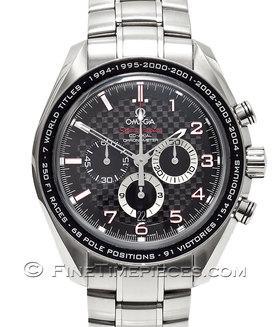 OMEGA | Speedmaster Chronograph Michael Schumacher The Legend | Ref. 32130445001001