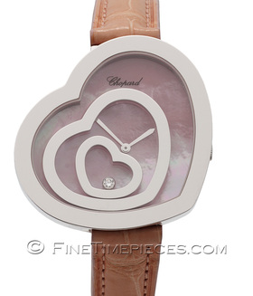 CHOPARD | Damenuhr Happy Spirit Weißgold | Ref. 209056-1001
