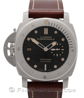 OFFICINE PANERAI | Luminor 1950 Submersible Left Hand 3 Days Titan | Ref. PAM 569