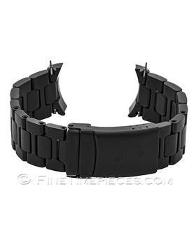 SINN | Stahlband Schwarz Tegimentiert für EZM U1, U2, UX | Ref. BM10101202S
