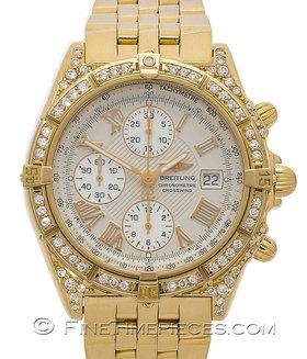 BREITLING | Crosswind Gelbgold mit Diamanten | Ref. K13355