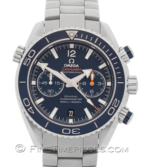 OMEGA | SEAMASTER PLANET OCEAN 600M CO-AXIAL CHRONOGRAPH 45,5 MM TITAN | Ref. 23290465103001