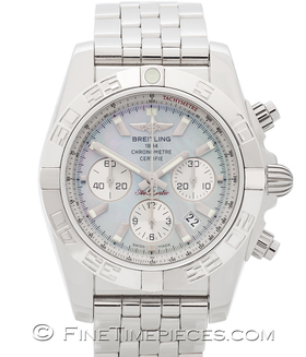 BREITLING   Chronomat 44 B01 Perlmutt   Ref. AB011012
