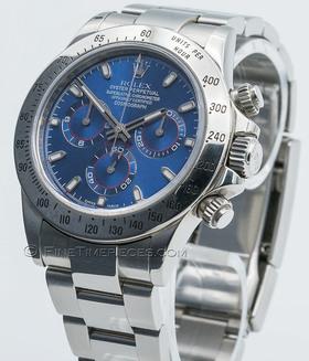 ROLEX | Cosmograph Daytona LC 206 Blaues Zifferblatt | Ref. 116520