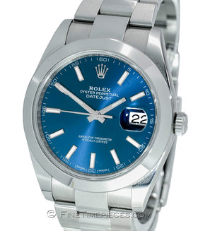 ROLEX | Oyster Perpetual Datejust 41 LC 100 | Ref. 126300