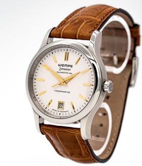 WEMPE GLASHÜTTE | Zeitmeister Jubiläumsuhr 20 Jahre Uhrenmagazin Limitiert auf 100 Stück | Ref. WF140001