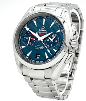 OMEGA | AQUA TERRA 150 M CO‑AXIAL GMT CHRONOGRAPH 43 MM | Ref. 231.10.43.52.03.001
