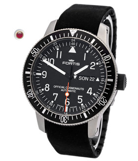 FORTIS   B-42 Offical Cosmonauts Day Date Titan   Ref. 658.27.11