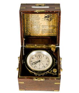 HAMILTON   Navy Schiffschronometer 21 aus 1942