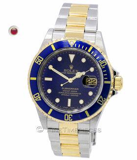ROLEX | Submariner Date Stahl/Gold LC100 | Ref. 16613