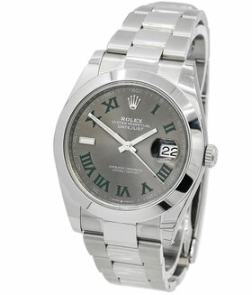 ROLEX | Oyster Perpetual Datejust 41 Wimbledon Dial LC 100 | Ref. 126300
