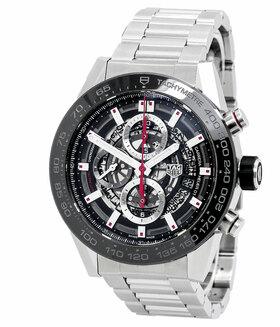 TAG HEUER | Carrera Chronograph Calibre Heuer 01 | Ref. CAR2A1W.BA0703