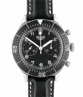 HEUER | Bundeswehr Chronograph Flyback | Ref. 1550 SG