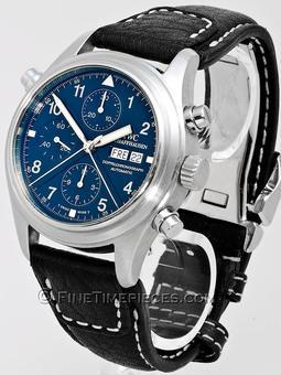 IWC | Fliegeruhr Doppelchronograph Klassik Platin | Ref. 3713
